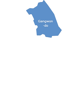 Gangwon-do selected